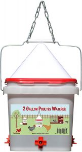 2 gallon poultry waterer