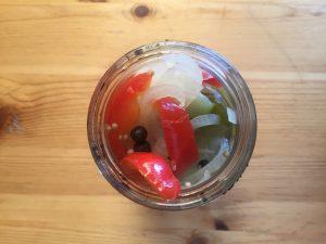 Fermented cucumbers